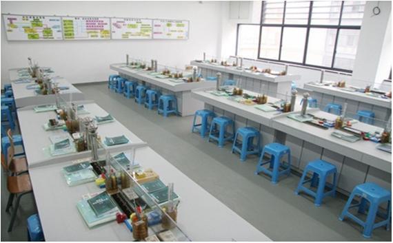 JD-2010H6豪华型财会模拟实验室设备(全木结构6人座)