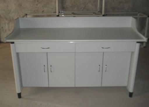 JD-2010L2豪华型财会实践室设备(铝木结构2人座)