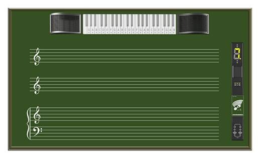 五线谱电子示教板