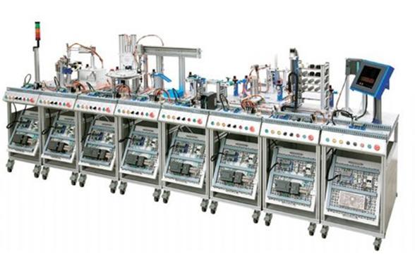 JDRX-1MES网络型模块式柔性自动化生产线实验系统(八站)