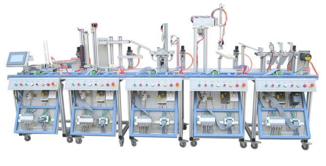 JDRX-2型MPS机电一体化柔性生产线加工实训系统