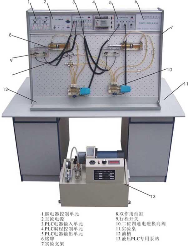 JD-19B气动PLC控制实验室设备