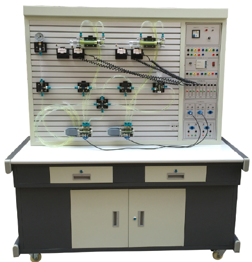 透明液压传动PLC控制实训装置