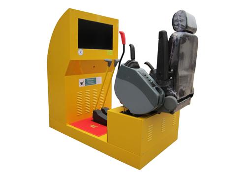 豪华型挖掘机模拟器
