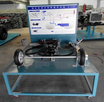 拖拉机液压回路教学系统