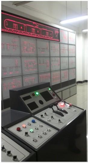 城市轨道交通列车电气回路系统教学平台JD/DT