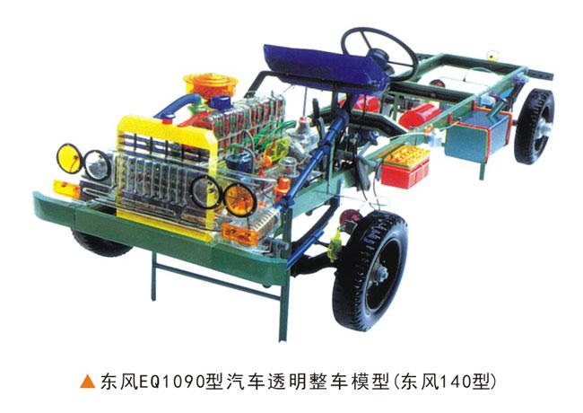 解放CA1091型汽车透明整车模型