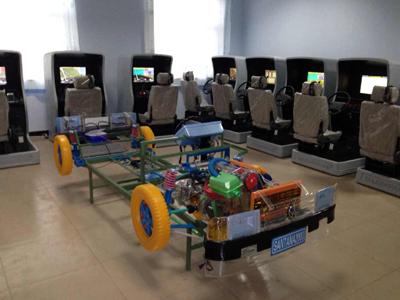 桑塔纳3000型汽车驱动部分组合模型
