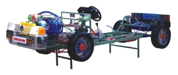 汽车教学模型、汽车教学设备、透明整台汽车教学模型