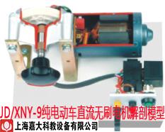 JD/XNY-9纯电动车直流无刷电机解剖模型