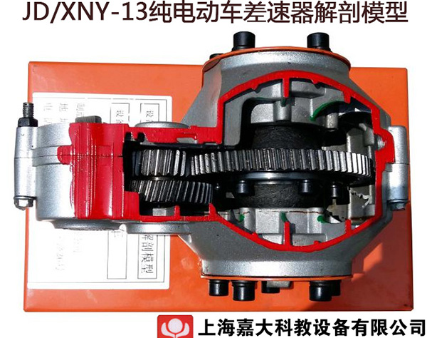 JD/XNY-13纯电动车差速器解剖模型