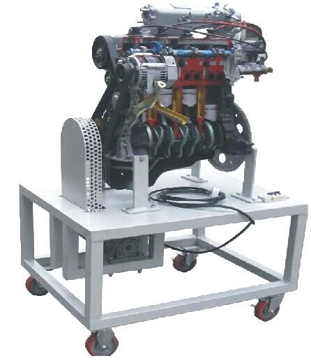 JD/QC719汽油电控发动机解剖动态演示台(4缸)