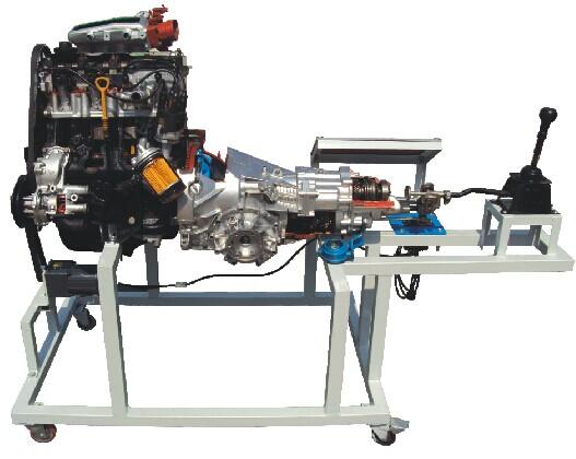 JD/719B桑塔纳2000发动机变速器解剖运行台