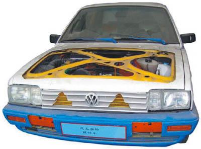 整车解剖模型【JD/QC701型】汽车整车教学模型新品
