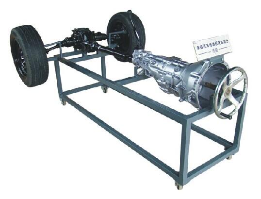 JD/QC342型汽车动力传动系统实训台(后驱动式)