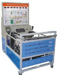 JD/QC212D型丰田电控发动机与自动变速器综合实训台