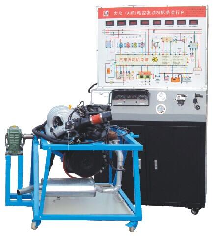 桑塔纳2000GSI电控发动机拆装运行实训台新品供应【JD/QC203B型】