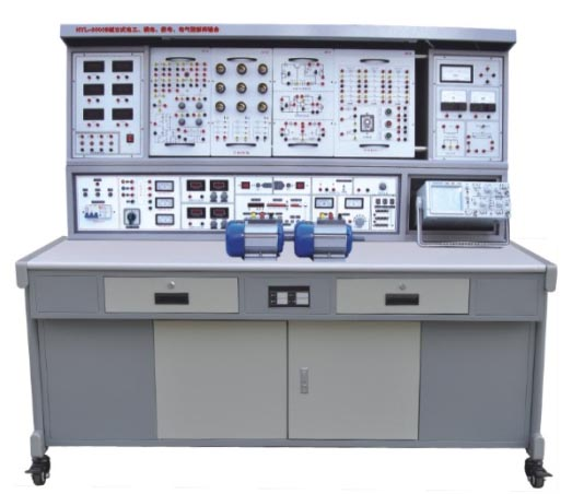JD/L-3000C型立式电工模电数电电气控制实验装置(带直流电机实验)
