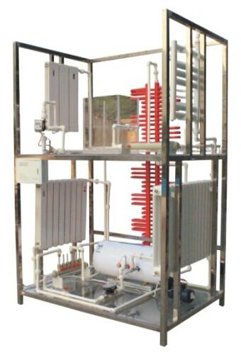JD/X9型单元住宅楼分户热计量采暖系统实训装置