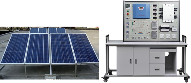 JD-PVT08楼宇新能源实训装置(光伏发电系统)