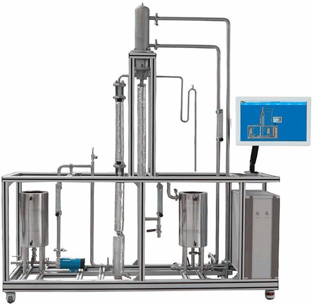 JDHG-YL25单管升膜蒸发实验装置