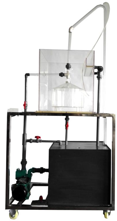 JD-WFC重力式无阀滤池实验装置