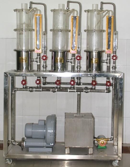 JD-BLY板式塔流体力学演示实验装置