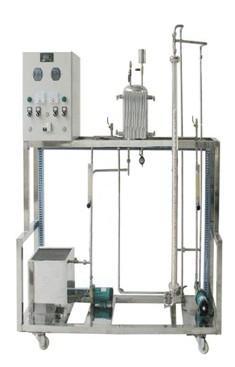 JD-GFT管式反应器流动特性测定实验装置