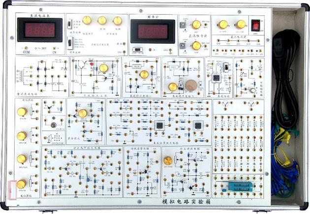 JD-A8-DL电路原理与模拟电路综合实验箱