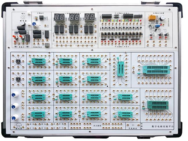 JD-D4数字电子技术实验箱