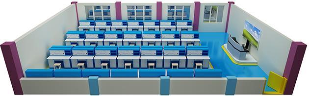 JDBK-535G一体化模电、数电综合实验室设备