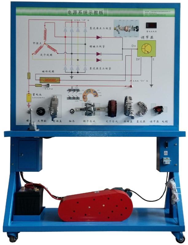 JDQC-NJ-012拖拉机充电系统实训台