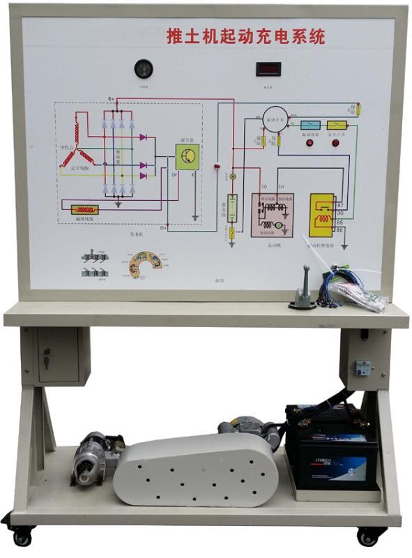 JDQC-GCJX-04推土机启动与充电系统实训台