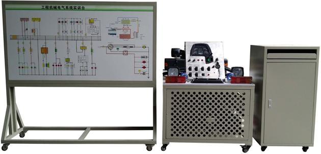 JDQC-GCJX-12小松PC220挖掘机全车电器电控系统实训台