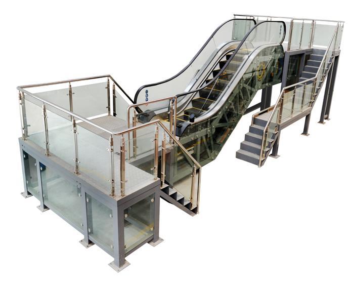 JDFT-2017型自动扶梯维修与保养实训考核装置