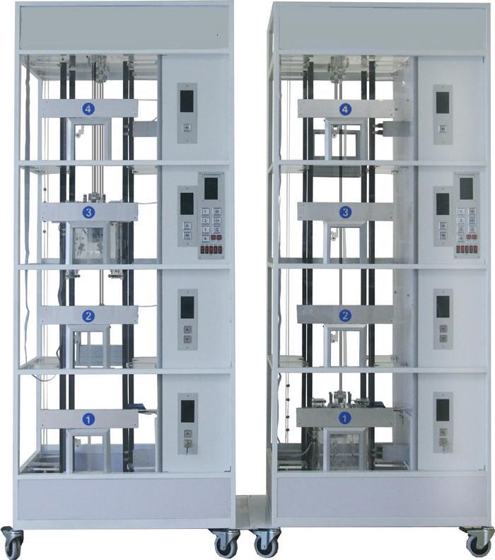 JDTSL-2009双联四层透明仿真教学电梯模型