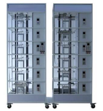 JD-2000双联六层透明仿真教学电梯模型