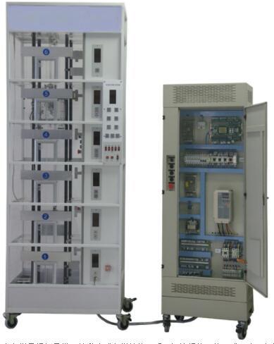 JDT6-ZNI智能串行通讯控制透明教学电梯模型(微机控制)