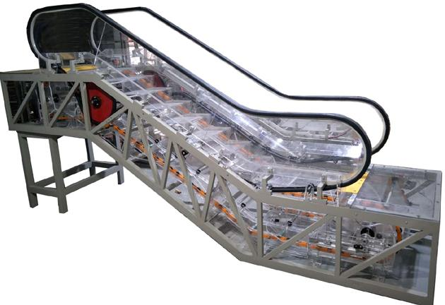 JDASFT-08B透明教学自动扶梯模型