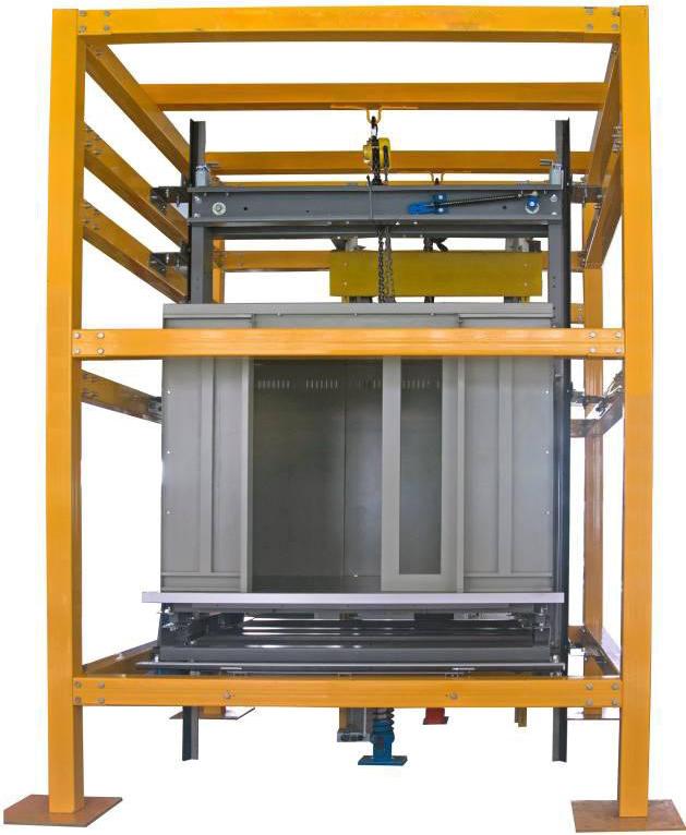 JD-771型电梯井道设施安装与调试实训考核装置