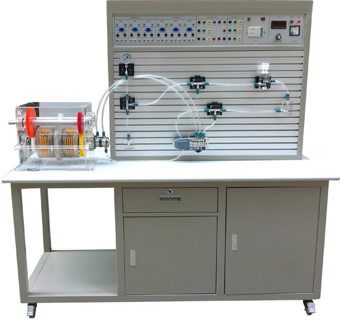 JDYY-LHQBS透明湿式离合器变速箱结构与液压PLC控制实训装置