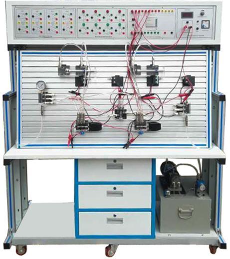 JDYY-19C透明液压传动与PLC实训装置(铝合金框架)