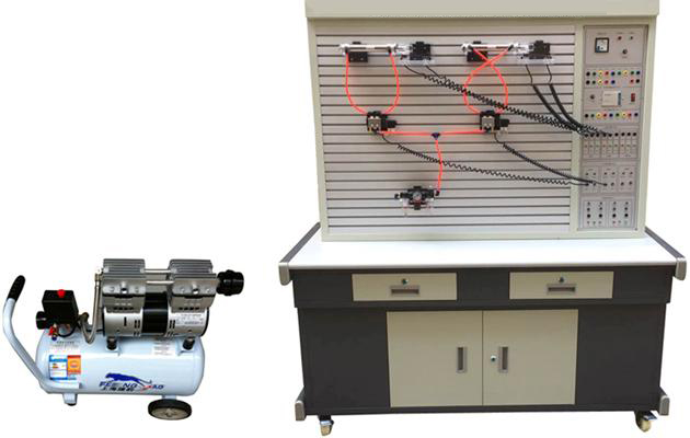 JDQD-102CPLC控制气压传动综合实训装置