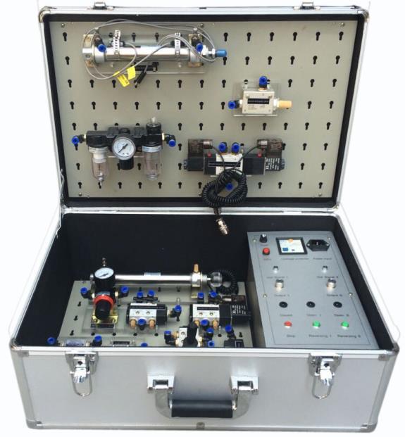 JD-QX05B便携式气动实训箱