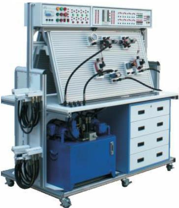 JDYQL-02创新型双面透明液压气动PLC控制实验台