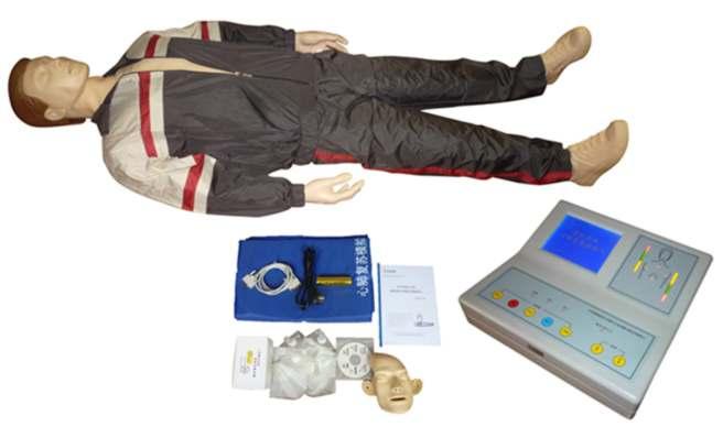 KAR/CPR500X高级大屏幕液晶彩显全自动电脑心肺复苏训练模拟人(2010新版)