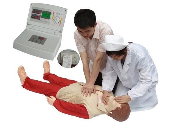 KAR/CPR580X新版液晶彩显高级电脑心肺复苏模拟人