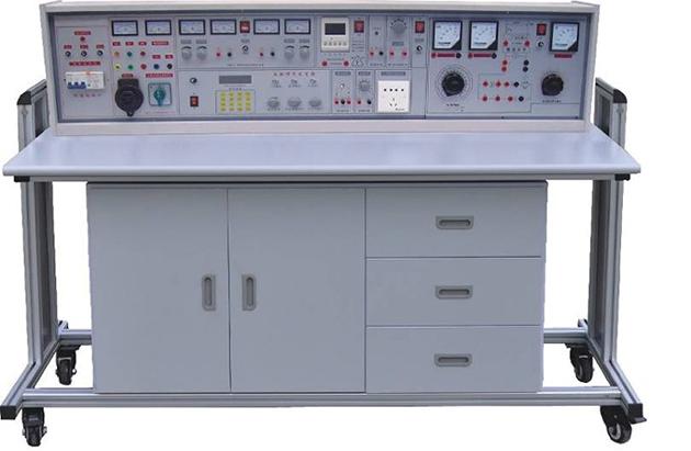 JD-98电工、电子、电力拖动(带直流电机、三相可调)实验装置