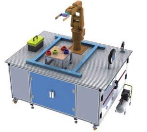 JDRGZ-2工业机器人装配工作站实训装置