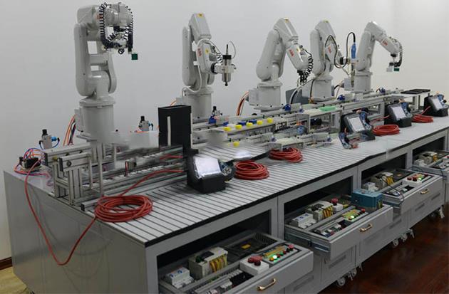 JDRX-J2工业机器人柔性自动化生产线实训系统